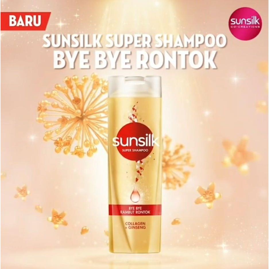 Sunsilk Super Shampoo Bye Bye Rambut Rontok 160ml