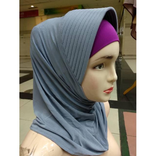 Kerudung Bergo Pendek Jilbab Instan Harian Shopee Indonesia