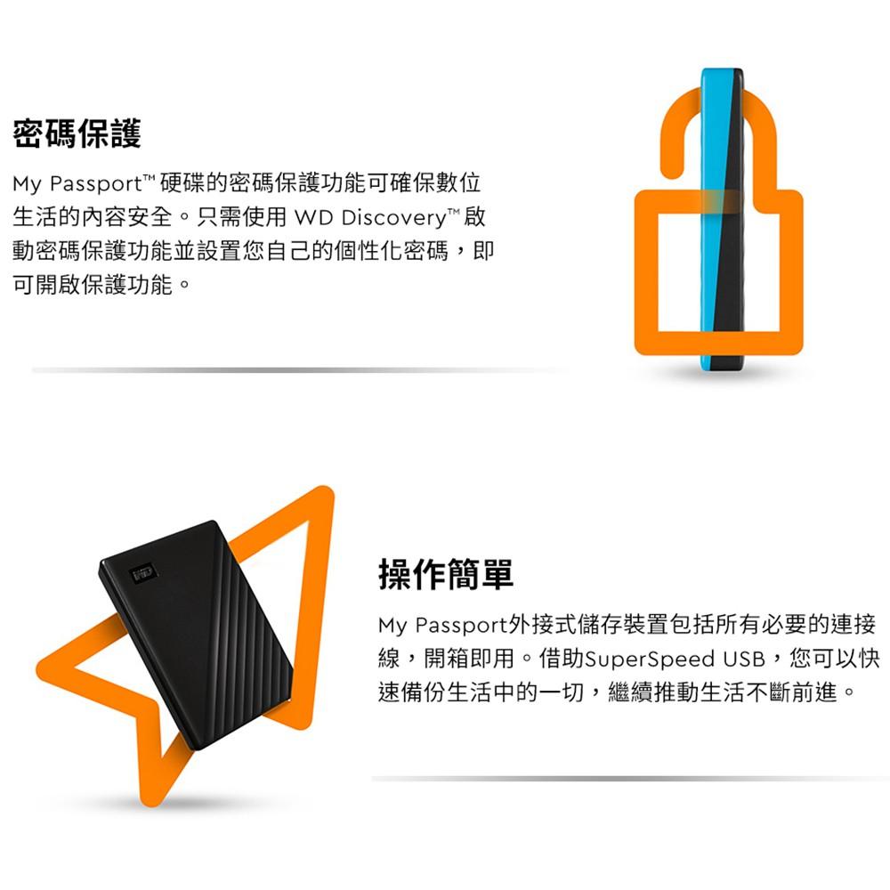 WD My Passport 1TB Orange Portable Hard Drive by Western Digital 3 year limit...