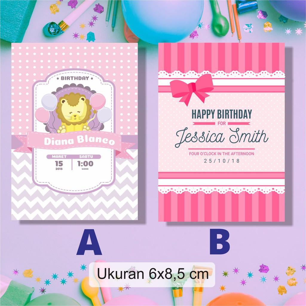 Stiker Ucapan, Ulang Tahun Anak, Aqiqoh, Tasyakuran, Birthday