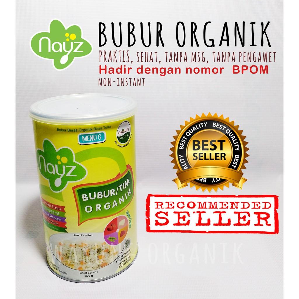 Nayz Bubur Beras Tim Organik Shopee Indonesia Bayi 300gr