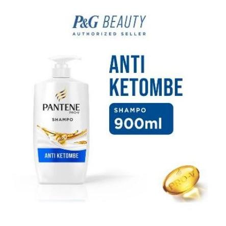 Shampoo Pantene Hair Fall /anti dandruff/ total damage/anti lepek  900ml-3