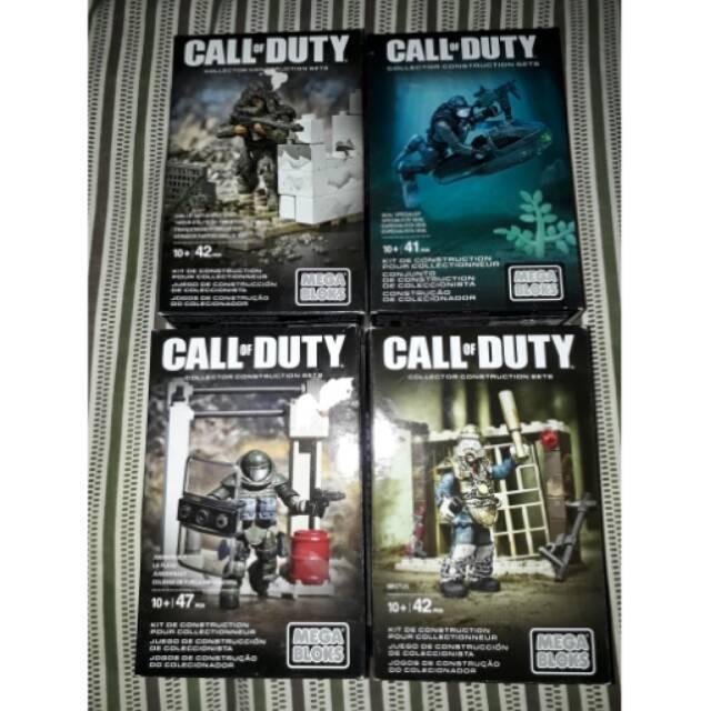 Mega Bloks Call Of Duty Brutus Ghilli Suit Sniper Juggernaut Especialista Seal Shopee Indonesia