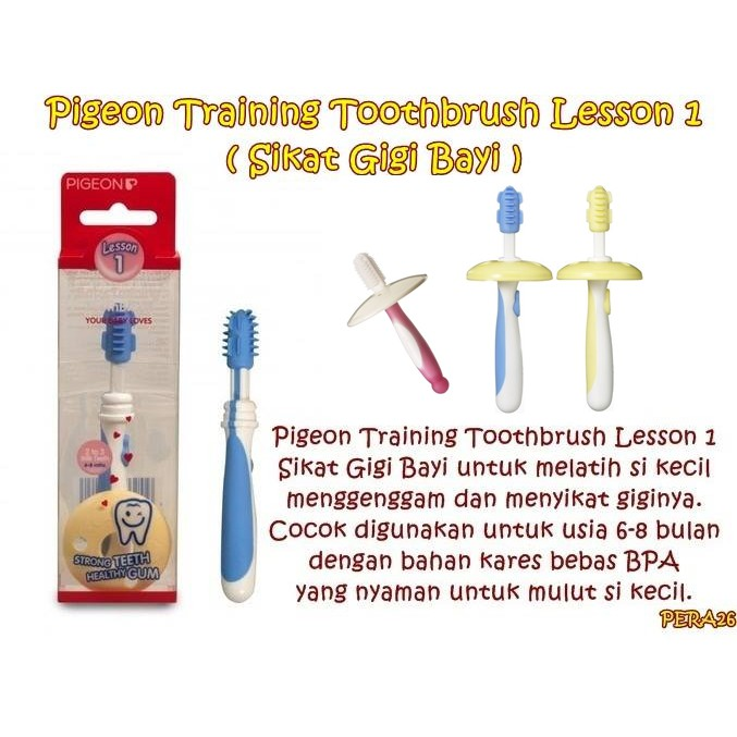 Sikat Gigi Bayi 3 in 1 Trainer 3 Step Set Kit IQ   Baby Tooth Brush Trainer  isi 3pcs  6bc4422f59
