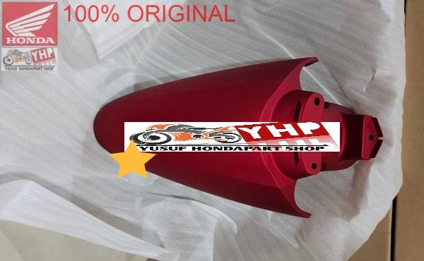 SLEBOR DEPAN RED DOFF HONDA SCOOPY ESP K2F 61100-K2F-N00ZN ORI AHM