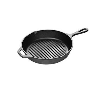 Fat-Free Fryer 10.5 inch Pre-Seasoned Cast Iron Square Grill Pan Lodge 26.67 cm