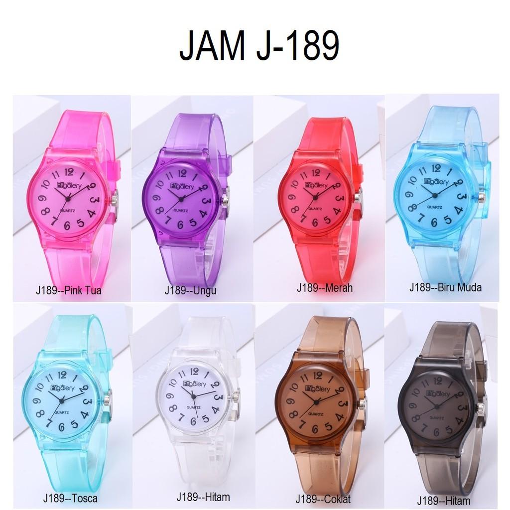 Jam Tangan Q&Q Jelly Angka Rubber Transparant Transparan Karet jam tangan unisex murah // QQ001 | Shopee Indonesia