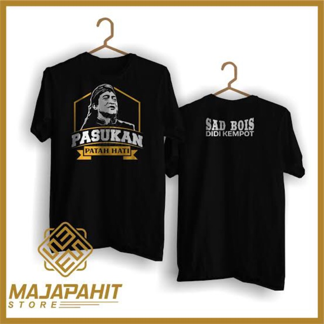 Kaos Didi Kempot Cidro Sobat Ambyar Print Baju Tshirt Keroncong