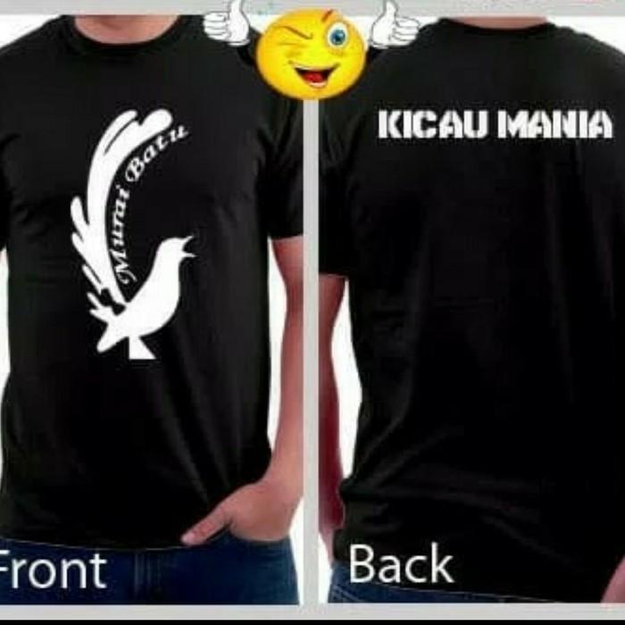 Kaos Murai Batu T Shirt Kicau Mania Aq Shopee Indonesia
