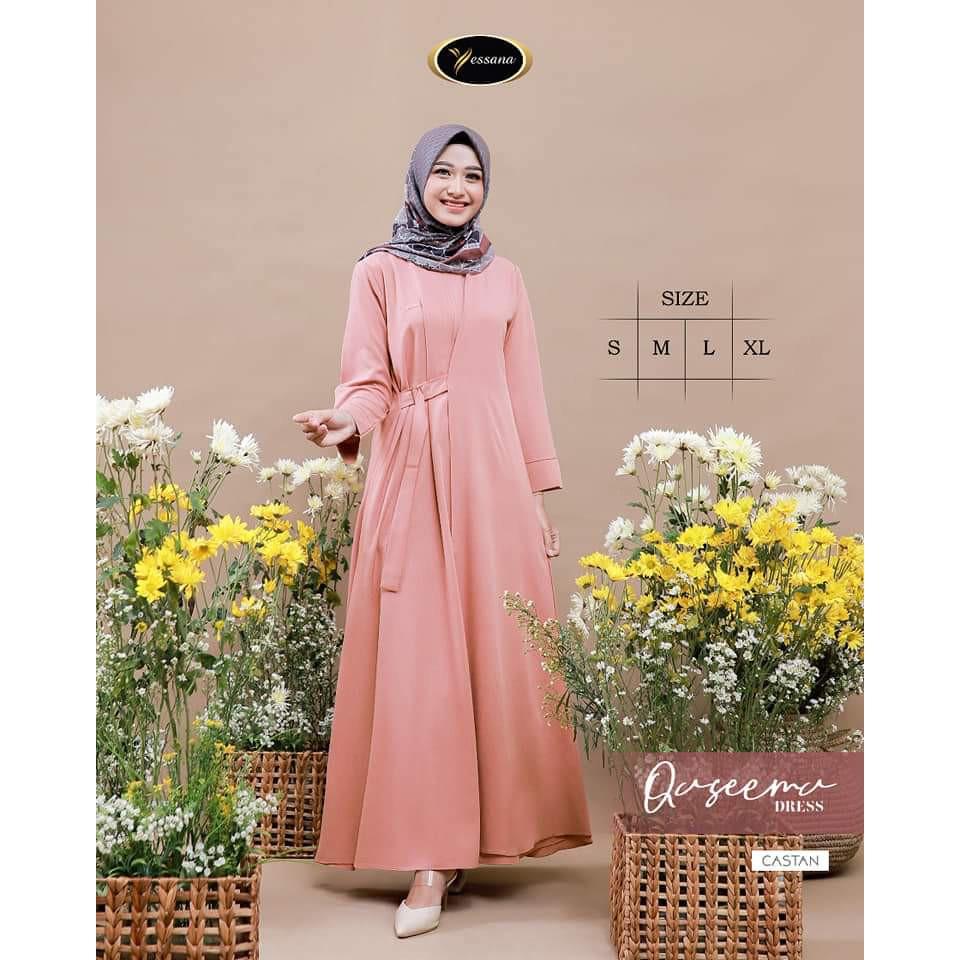 DRESS MUSLIM / DRESS QASEEMA BY YESSANA