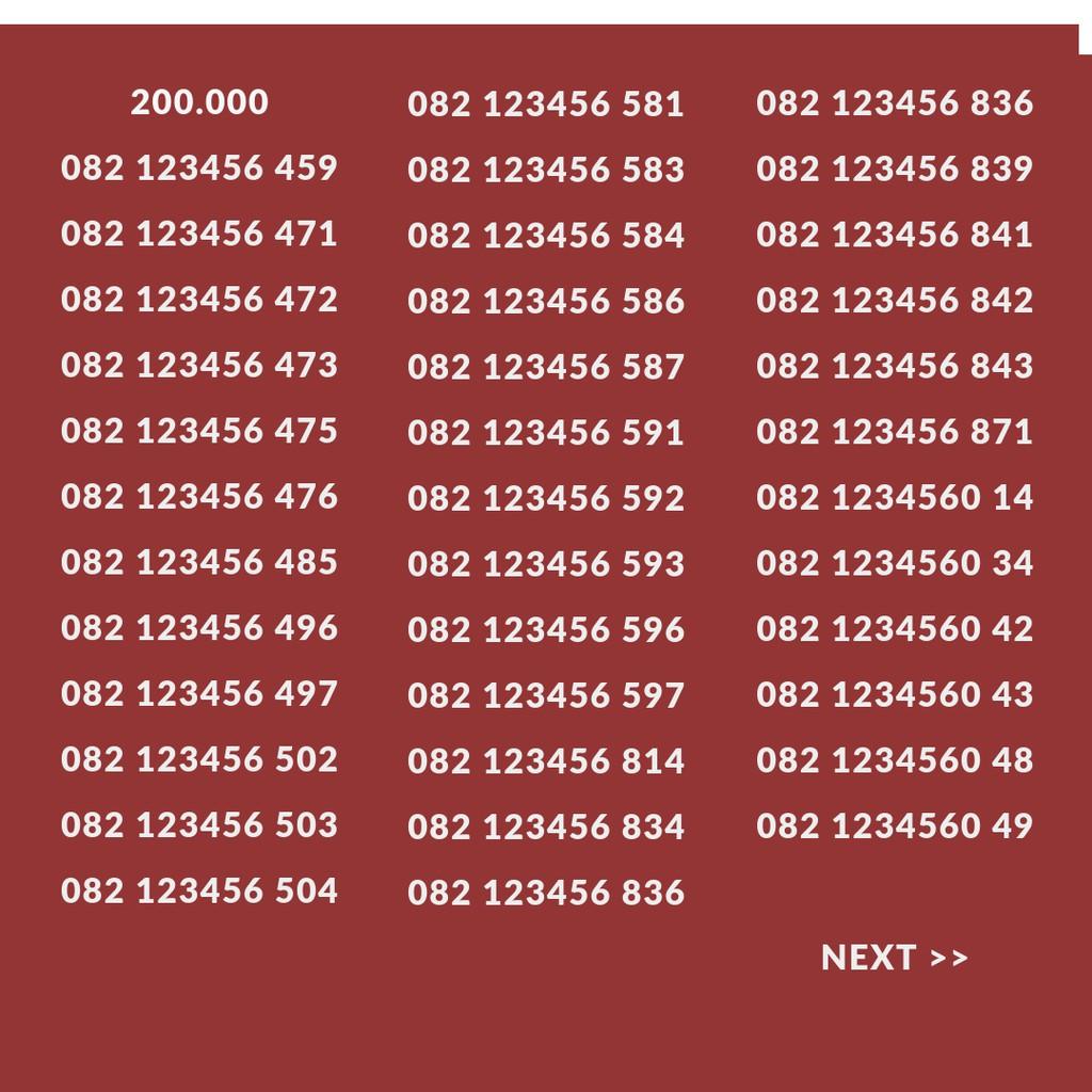 Kartu AS Panca 1 Satu 11111 Nomor Cantik Telkomsel .