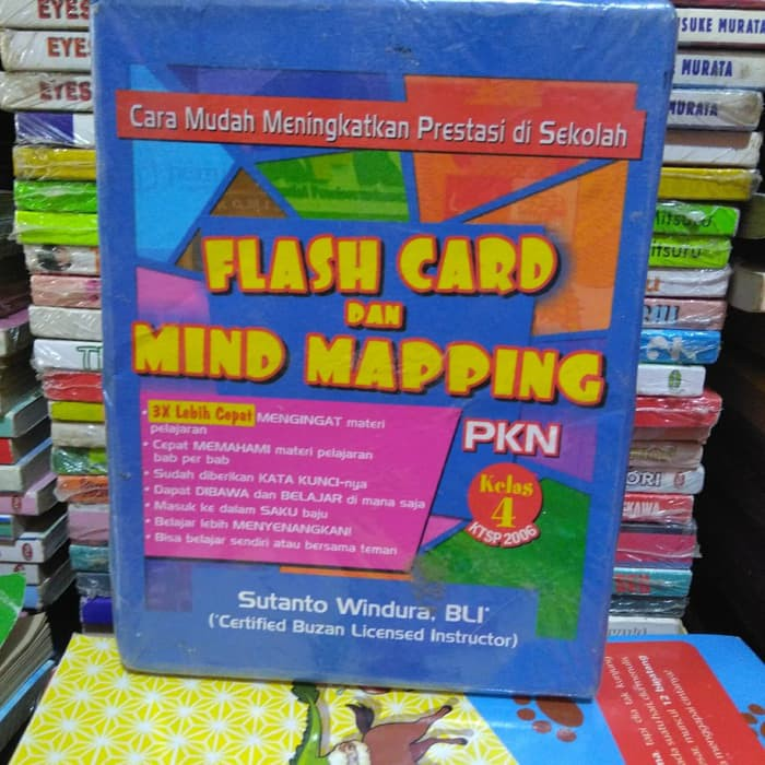 Flash Card Dan Mind Mapping Pkn Kelas 4 Shopee Indonesia
