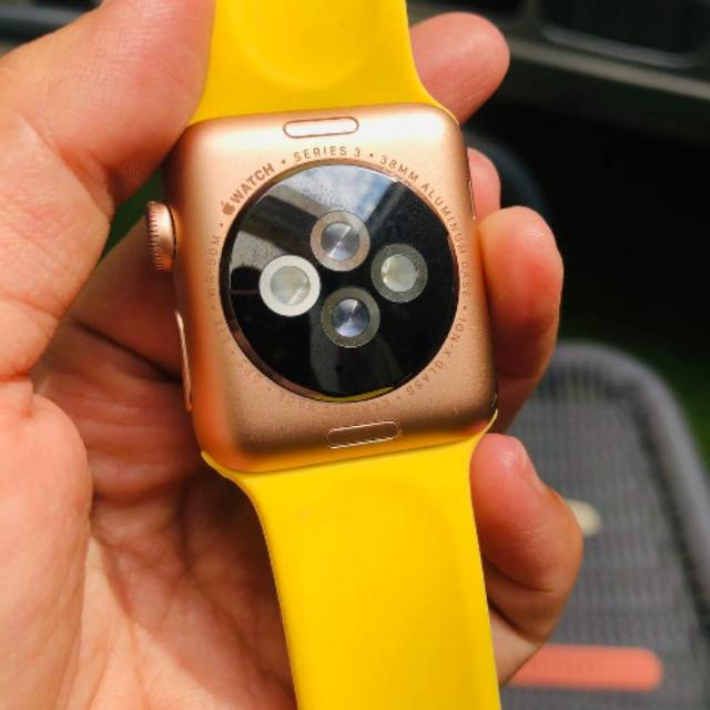 Apple Watch Series 3 38 Mm Warna Rose Gold Gps Lte Shopee Indonesia