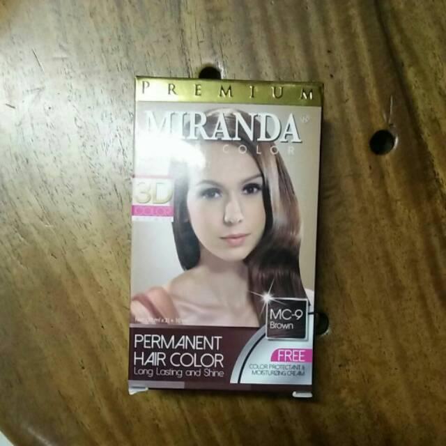 PERMANENT hair color Miranda  cat  pewarna rambut  warna