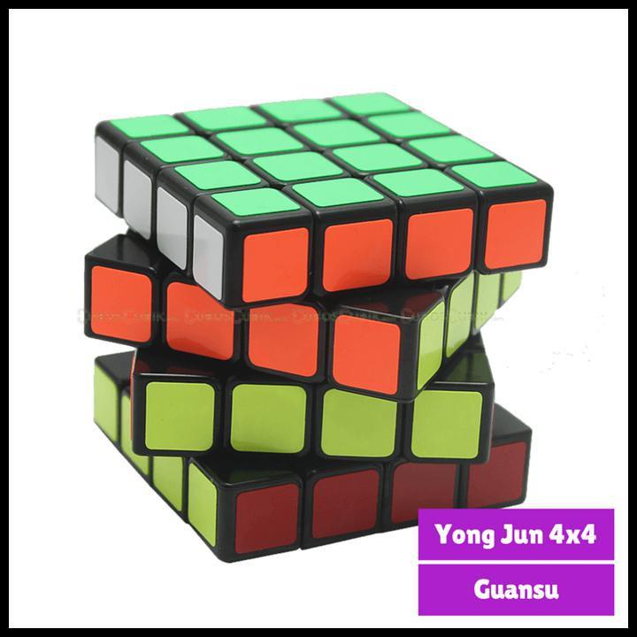 Rubik 4x4 YJ Guansu / Yong Jun Speed Cube 4x4x4 ORIGINAL | Shopee Indonesia