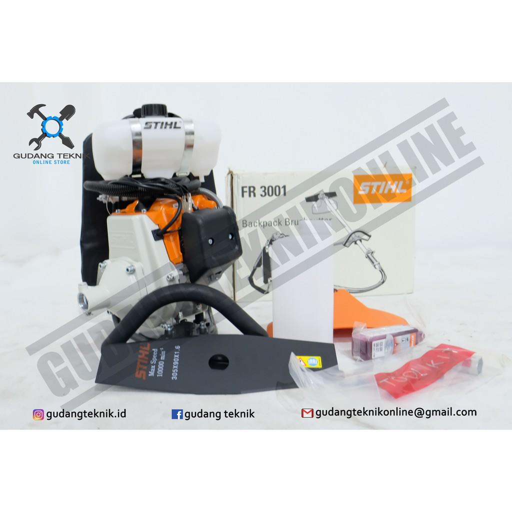 Stihl Mesin Potong Rumput Brush Cutter Fr 3001 Lihat Daftar Harga Backpack Krisbow 125kw Kw2001355 Fr3001 Shopee Indonesia