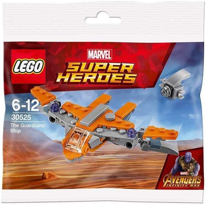 Lego Polybag 30525 Avengers Marvel The Guardians Ship
