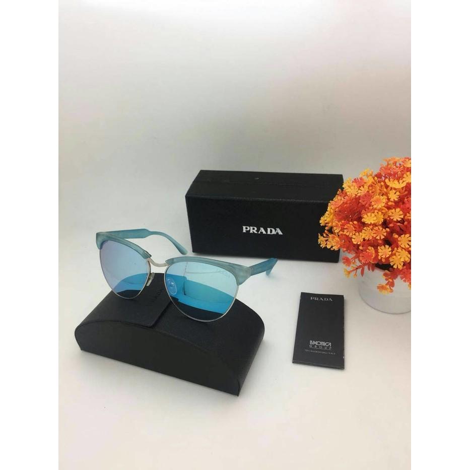 Kacamata Prada 2166 Biru Sunglass Wanita Fashion Q6 Premium harga grosir  bcef6fd80a
