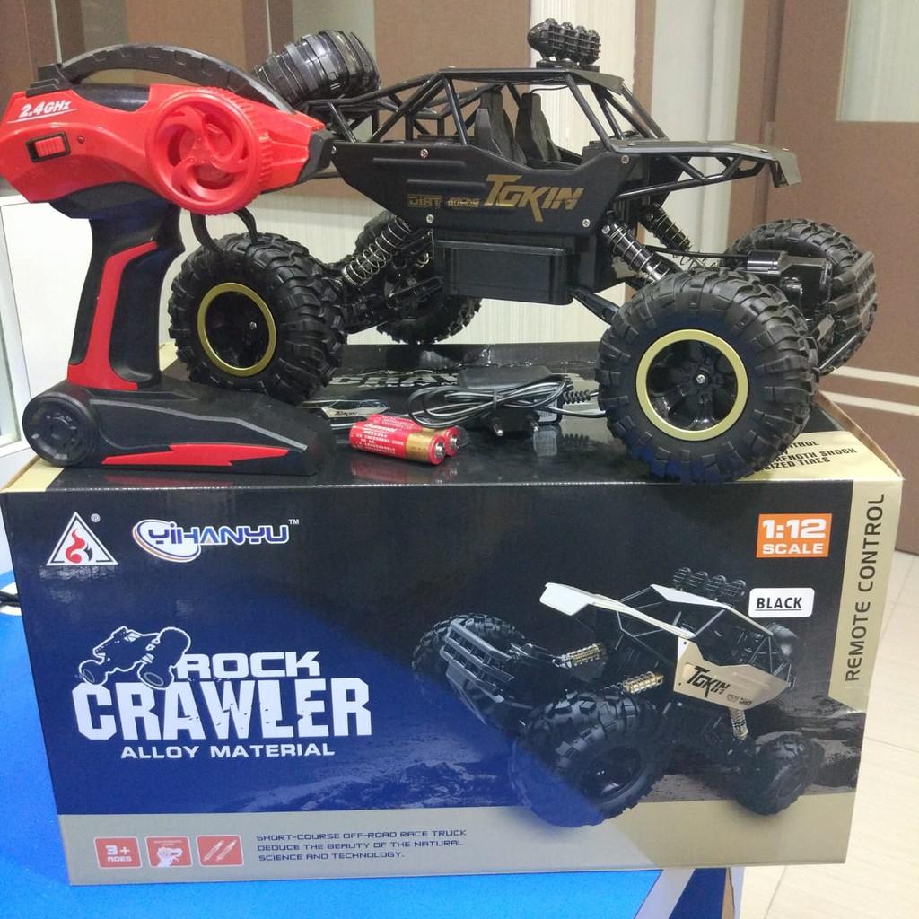 Rc Car Mainan Mobil Remote Kontrol Rock Crawler 1 12 Offroad 4wd Mobil Rc Jtr Remot Kontrol Shopee Indonesia