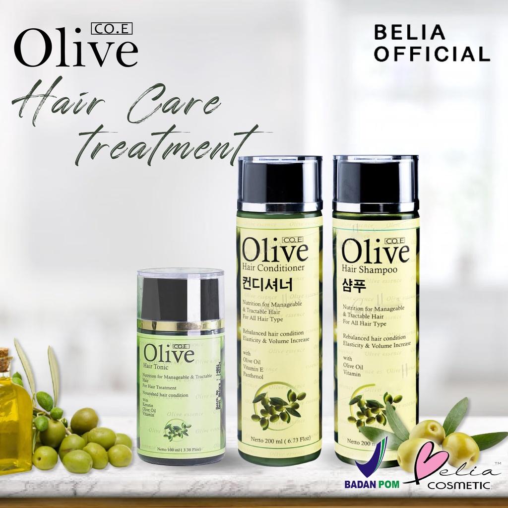 ❤ BELIA ❤ CO.E Olive Hair Treatment | Shampoo | Conditioner | Tonic | Shampo SYB (✔BPOM)-6