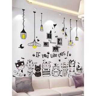 3d tiga dimensi stiker dinding, kamar anak-anak, kamar