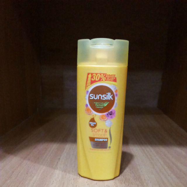 Sunsilk shampo botol 70ml+21ml-Soft & smooth