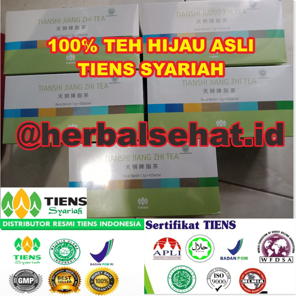 Jiang Zhi Tea Tiens Teh Pelangsing Badan Alami Shopee Indonesia Tianshi