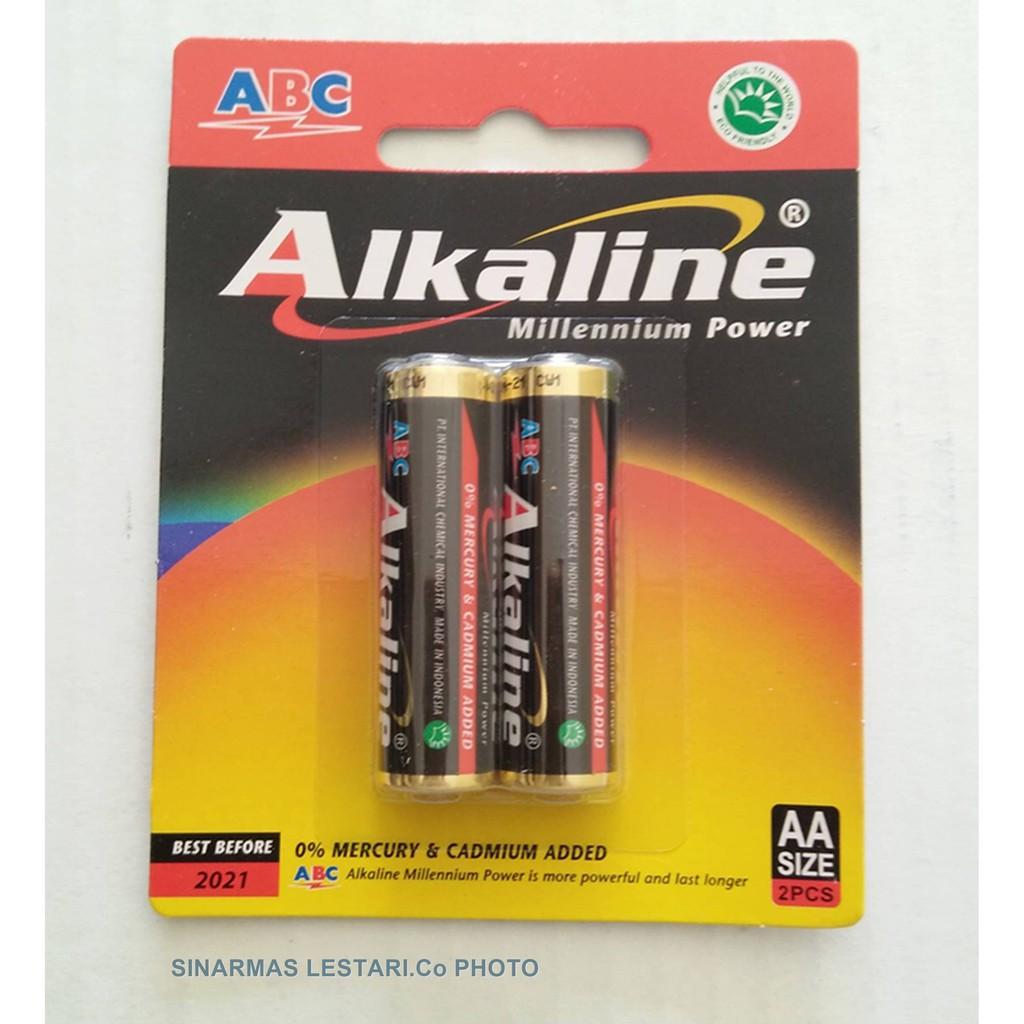 ABC Baterai AA 1.5V ALKALINE  e37967fed5