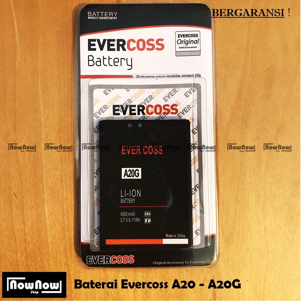 Baterai Evercoss U50 - U50A - A75 Max Original Double Power Batre Battery HP Evercross Cross | Shopee Indonesia