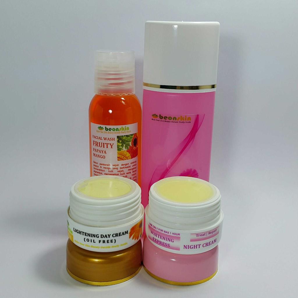 Damoe Whitening Series Kit Termurah Paket Memutihkan Ertos Nigt Cream Pemutih Wajah Kpw 146 Shopee Indonesia