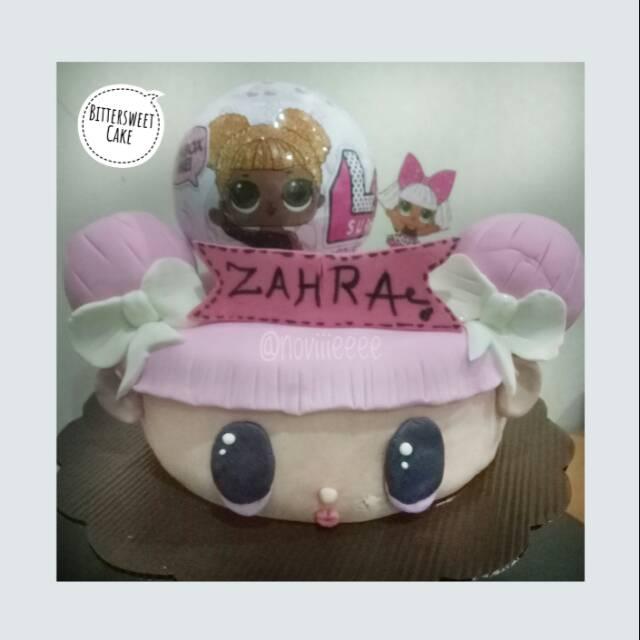 Kue ulang tahun tema lol