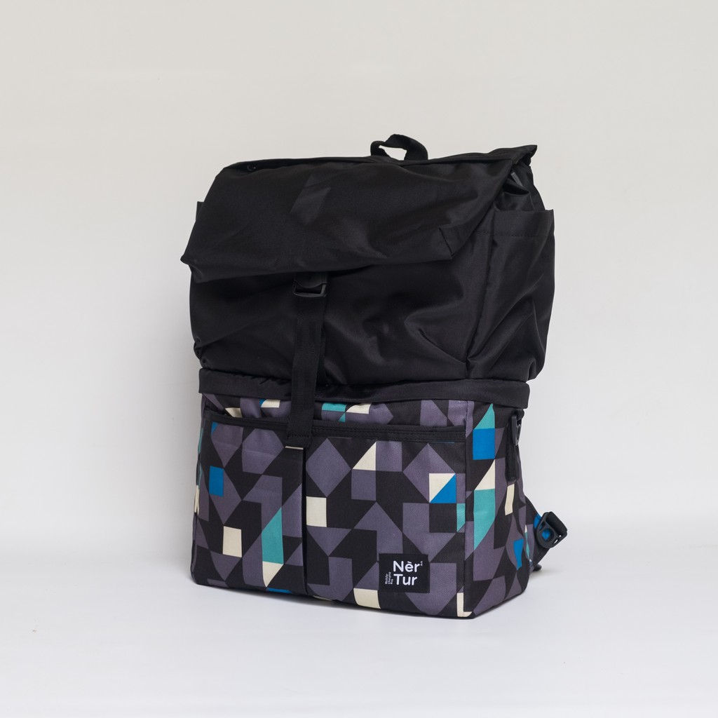 Babygo Inc Cooler Bag Classic Tote Black Shopee Indonesia Metro Backpack Blue