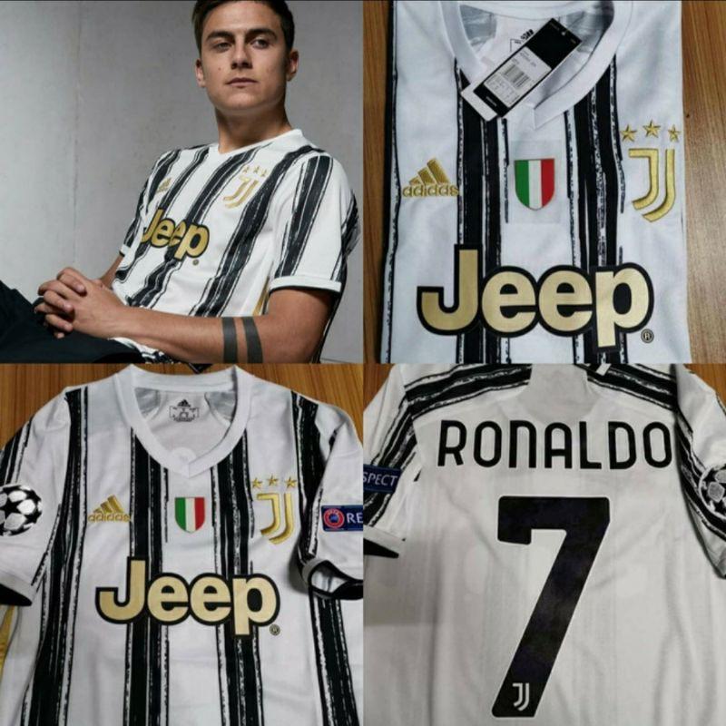jersey baju bola nameset juve jupentus full patch home 2020 2021 go shopee indonesia jersey baju bola nameset juve jupentus full patch home 2020 2021 go