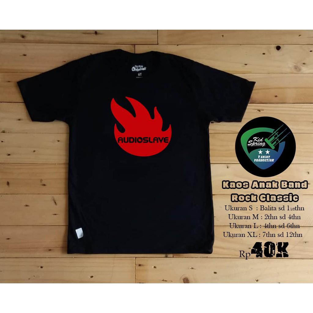 AUDIOSLAVE BAND Black New T-shirt Rock T-shirt Rock Band Shirt Rock Tee