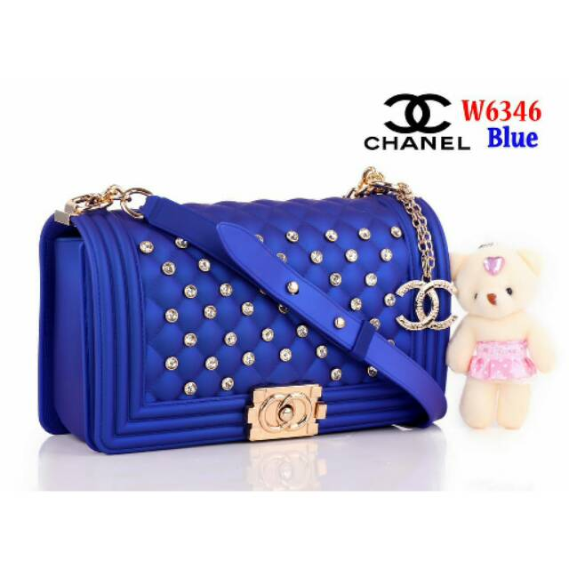 Jika Anda membeli handbag CHNL cewek 63w bhn jelly   tas wanita pesta  hitam 5dae5f0f22