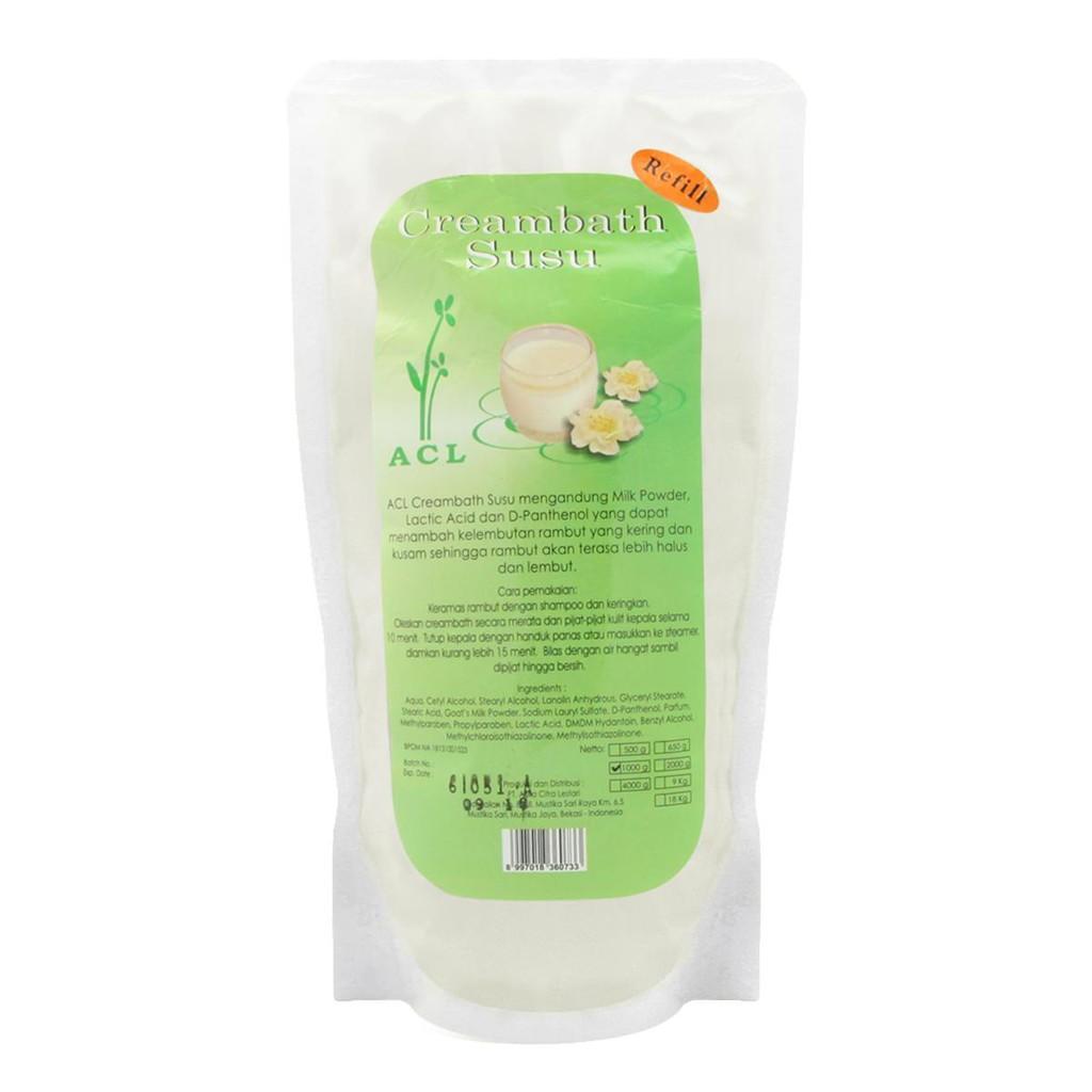 Acl Massage Cream Refill 1000 G Shopee Indonesia Creambath Avocado 200gr