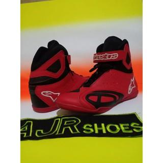 sepatu drag touring Alpinestar merah merah Terlaris  eb08c4dc23