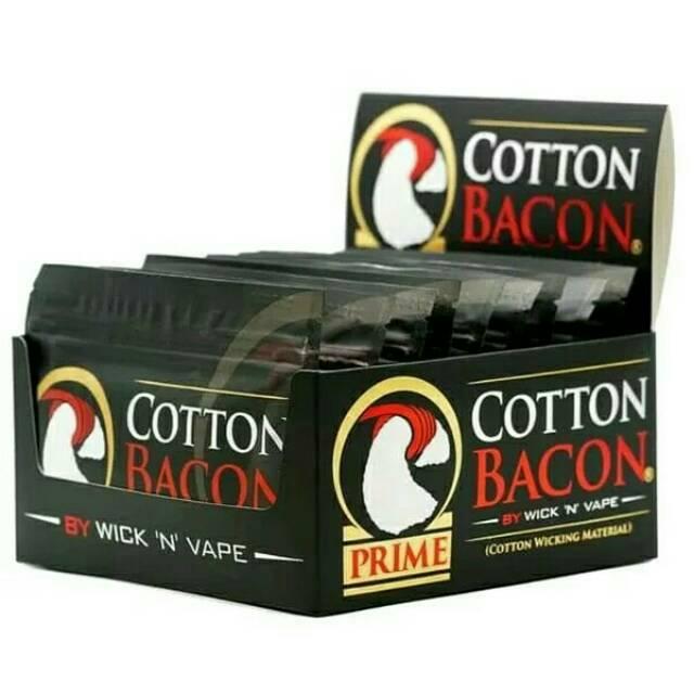 kapas organic usa bacon cotton organic vape vapour kapaa | Shopee Indonesia