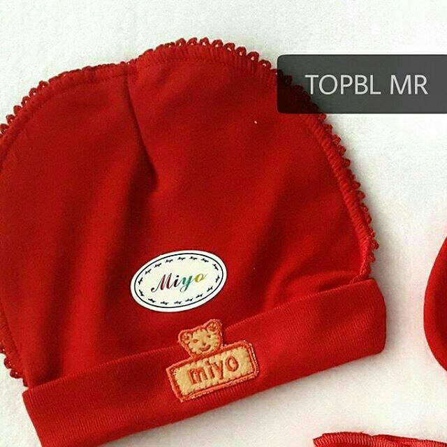 Miyo Topi Merah - Daftar Harga Terbaru   Terlengkap Indonesia defde2e4a4