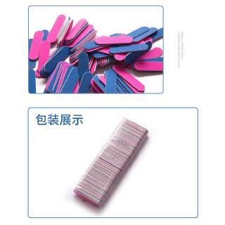 Amplas Pasir Mini 2 Sisi Warna Acak untuk Manicure 8