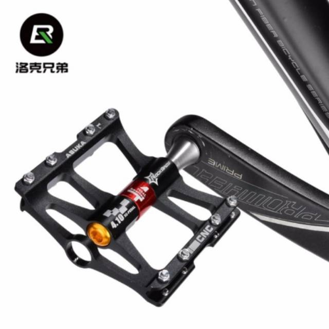 RockBros Cycling Pedals Z4 Sealed Bearing CNC Spindle Aluminum Alloy Bike Pedals