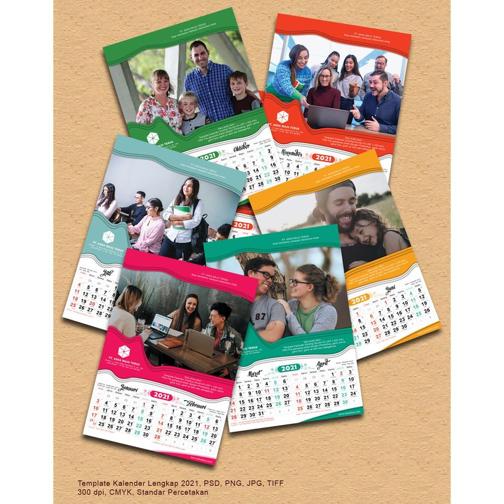 View 42+ Download Template Desain Kalender 2021 Psd ...
