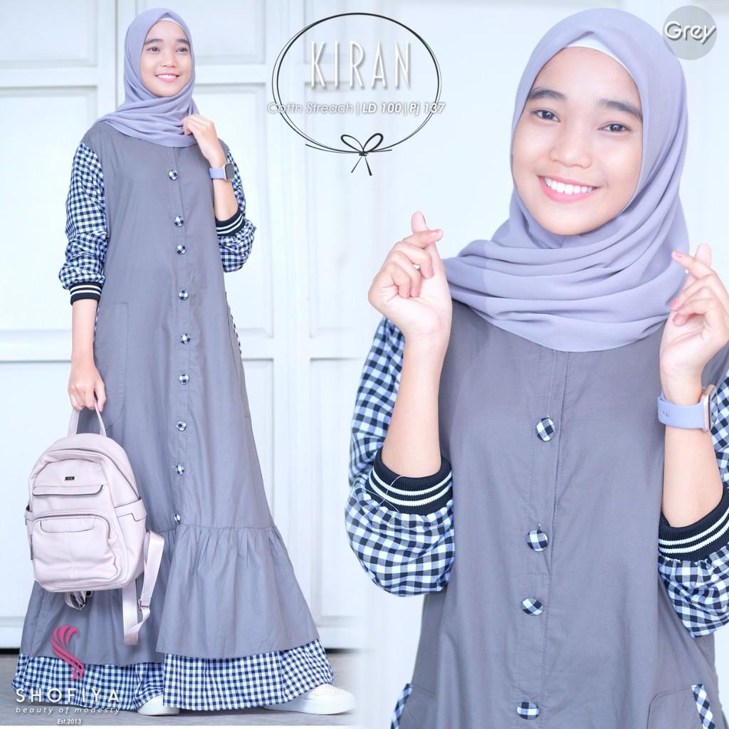 Kiran Gamis Ori by Shofiya Gamis Remaja gamis remaja fashion muslim gamis  abg gamis syar i asdf