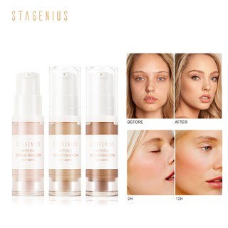 Stagenius Foundation Cair Matte Bebas Minyak Tester
