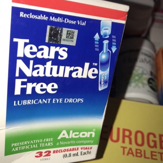 Tears Naturale Free Lubricant 32 Vials Shopee Indonesia