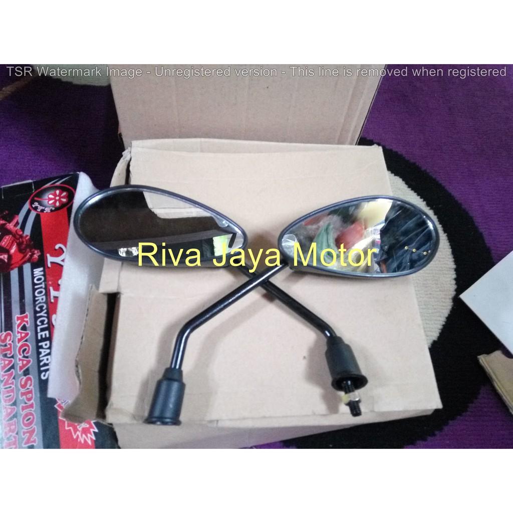 Spion Model Hd Kotak Besi Drat 14 Honda Cb Gl Megapro Tiger Shopee Klx Indonesia