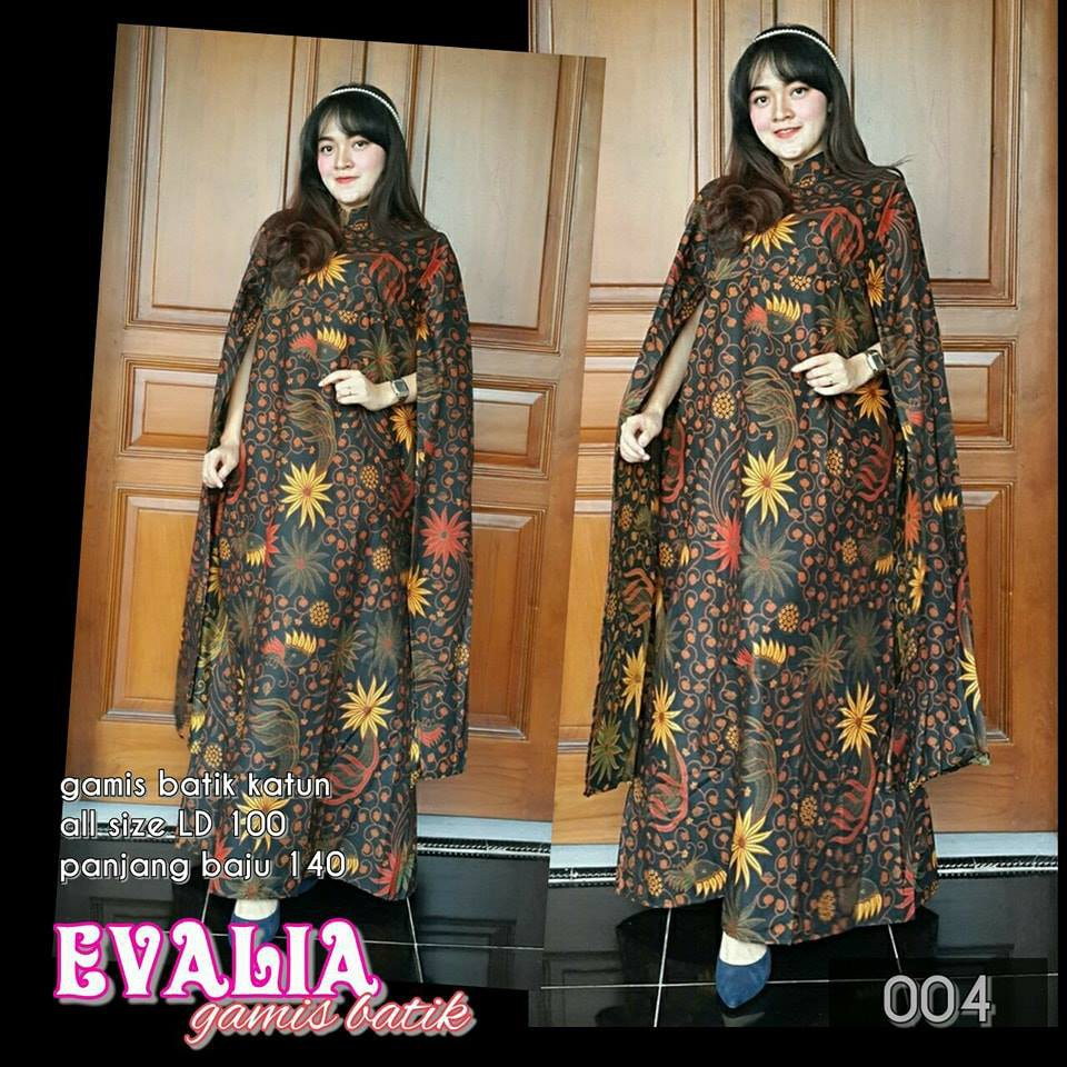 dress batik pesta, dress batik kombinasi brokat, dress batik kombinasi  polos, dress batik elegan,