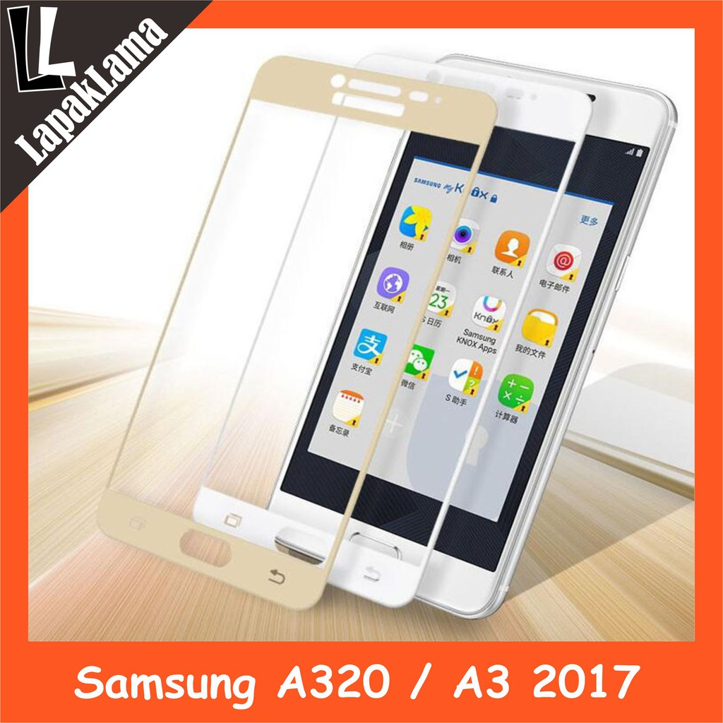 X2 Tempered Glass Warna Samsung Galaxy A7 16 A710 2016 Screen Xiaomi Redmi Note 4 Guard Kaca Colour Shopee Indonesia