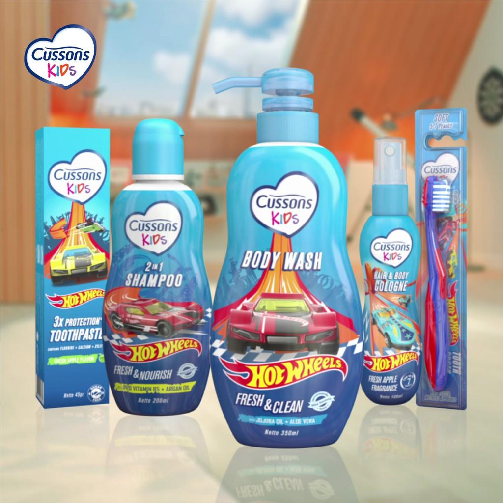 Cussons Kids Shampoo Hot Wheels Fresh & Nourish 200ml-7