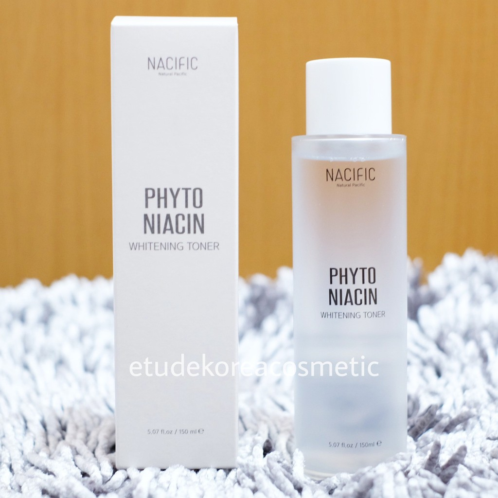 NACIFIC Natural Pacific Phyto Niacin Whitening Toner 150ml | Shopee Indonesia